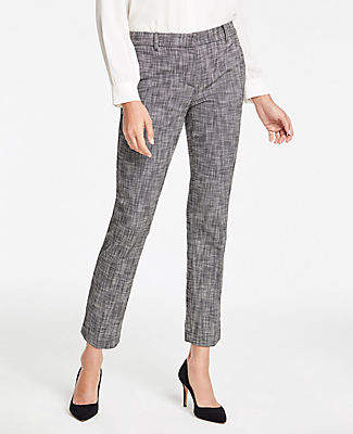 Ann Taylor The Tall Ankle Pant in Texture - Curvy Fit
