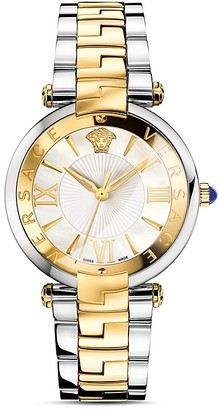 Versace Two-Tone Reve Watch, 35mm $1,495 thestylecure.com