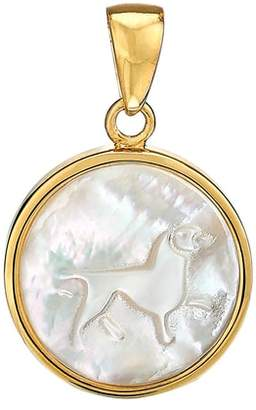 Asha Zodiac Mother-of-Pearl Charm