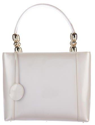 Christian Dior Patent Leather Malice Satchel