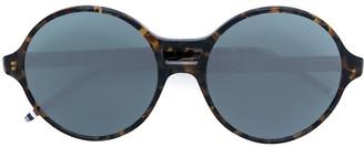 Thom Browne Eyewear round frame tinted sunglasses