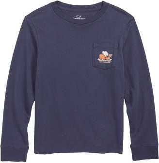 Vineyard Vines Thanksgiving Turkey Pocket T-Shirt