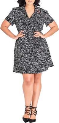 City Chic Sweetheart Dress