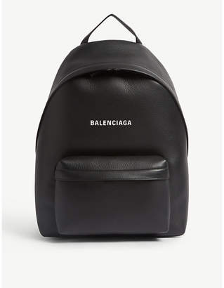 Balenciaga Everyday leather backpack