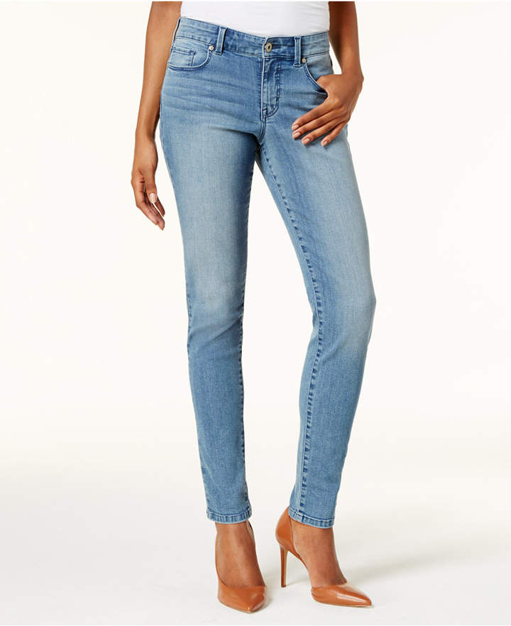 Style & Co Petite Performance Stretch Skinny Jeans, Created for Macy's