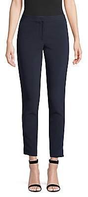 Yigal Azrouël Women's Relaxed-Fit Velvet Tuxedo Pants
