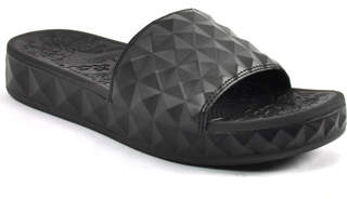 Ash Splash - Leather Wedge Pool Slide