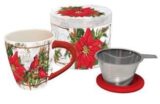 Lang Tea Infusion Mug, Cardinal Christmas
