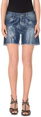 Space Style Concept Denim shorts