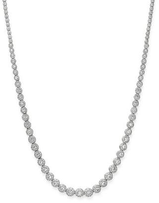 Bloomingdale's Diamond Tennis Necklace in 14K White Gold, 9.0 ct. t.w. - 100% Exclusive