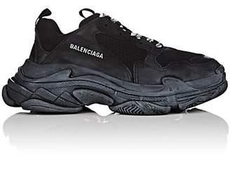 Balenciaga Men's Triple S Platform Sneakers - Black