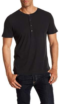 7 For All Mankind Short Sleeve Henley