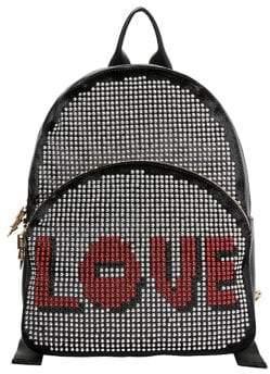 Betsey Johnson Studly Zip 'Love' Backpack