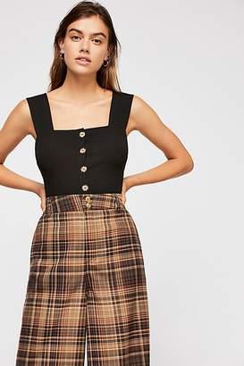 Intimately Thalia Button-Up Cami