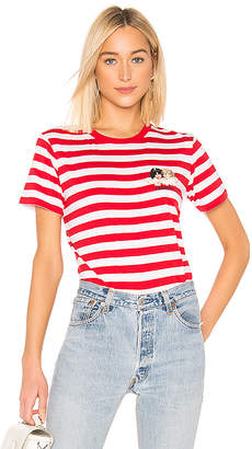 Fiorucci Iconic Stripes Tee with Angels