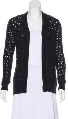 AllSaints Long Sleeve Open Front Cardigan