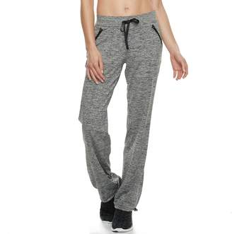 Tek Gear Women's Base Knit Bungee Hem Workout Pants