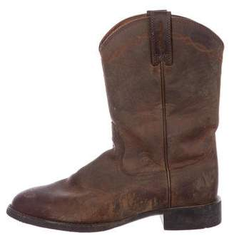 ARI Leather Cowboy Boots
