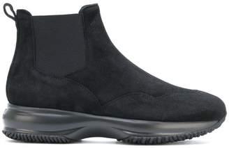 Hogan pull-on sneaker boots