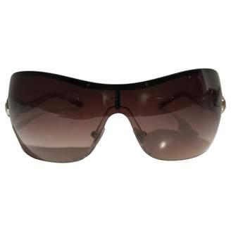 Bulgari Red Plastic Sunglasses
