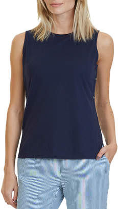 Nautica Side Detail Knit Top