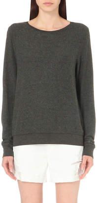 Wildfox Couture Essentials Baggy Beach fleece sweatshirt