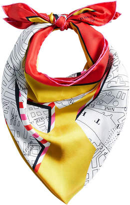 Burberry square scarf