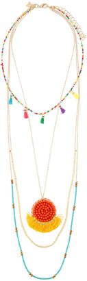 Panacea Multi-Bead & Pendant Layered Necklace