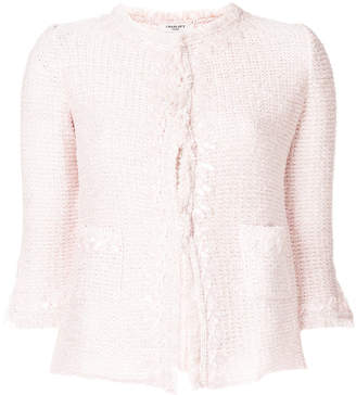 Charlott embellished tweed jacket