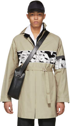 Prada Beige Comic Coat