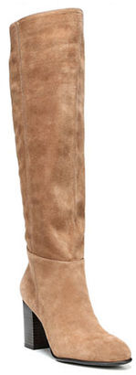Sam Edelman Silas Almond Toe Over-The-Knee Boots $170 thestylecure.com
