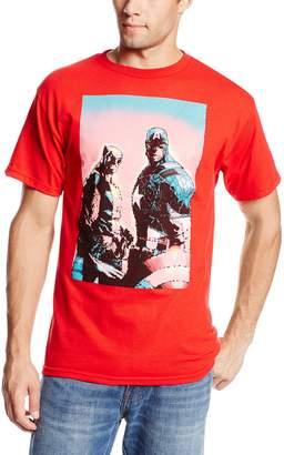 Marvel Team-Ups Men's Captain Wolverine T-Shirt