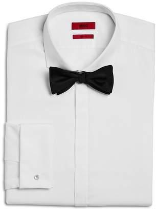 Hugo Boss Matthew Sharp Fit - Regular Fit Tuxedo Shirt $135 thestylecure.com