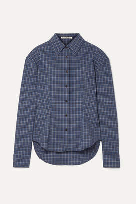 Acne Studios Sovilla Checked Oxford Shirt - Blue