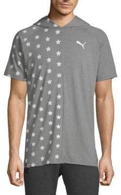 Puma Fourth of July Star Hooded Tee