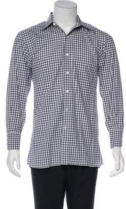Tom Ford Woven Gingham Shirt