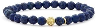Lagos Caviar Icon Stretch Bead Bracelet