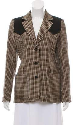 Louis Vuitton Houndstooth Wool Blazer w/ Tags