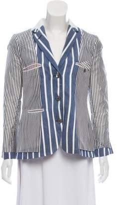Thom Browne Linen Reversible Blazer