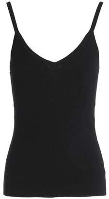 Equipment Ribbed Cotton Silk And Cashmere-Blend Tank