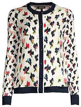 Escada Women's Siora Wool & Silk Floral Cardigan