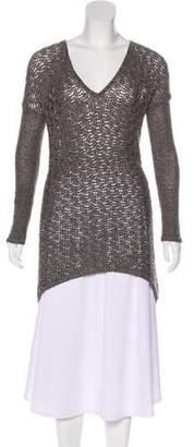 Helmut Lang Long Sleeve Knit Sweater