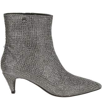 Michael Kors Glitter Chain Ankle Boots
