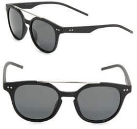 Polaroid Double-Bridge Browline Sunglasses