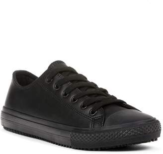 Yellow Shoes TECH SERIE LACE-UP Womens Flat Work / Uniform Shoes - Casual & Comfortable - Made from Genuine Leather & Non-Marking Rubber Sole - Perfect for School, Teachers, Students or Other Jobs - Spring Summer Fall Winter Seasons