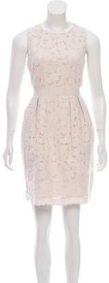 Stella McCartney Knee-Length Eyelet Dress