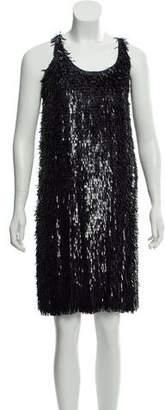 Burberry Sequined Knee-Length Dress w/ Tags
