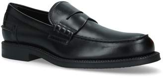 J.P Tods Leather Penny Loafers