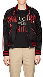 "Gucci Men's ""Spiritismo"" Bomber Jacket - Black"