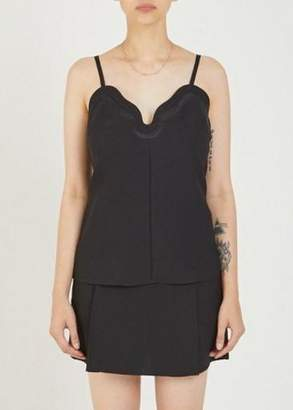 Carven Wave Cami Black